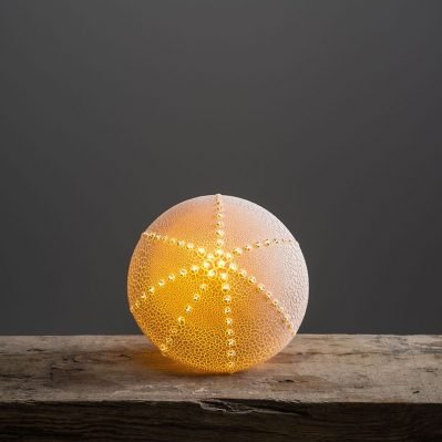 Urchin Porcelain Lamp Handcrafted By Amy Cooper Ceramics