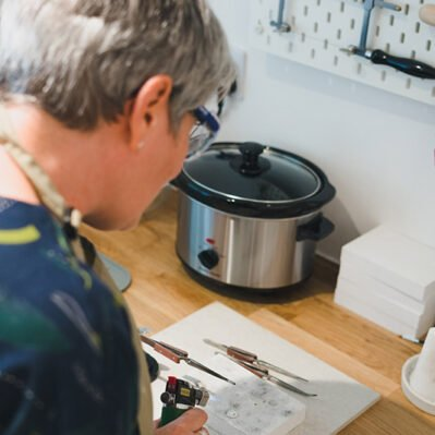 Article Jewellery Maker Portrait
