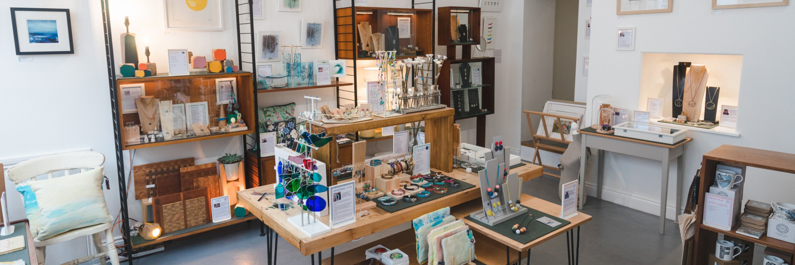 Inside the Inspire Makers shop
