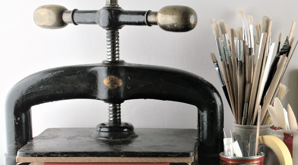 Bookbinding Press Used By Books N Boxes