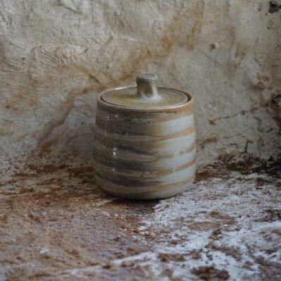Bridie Maddocks Wood Fired Ceramic Jar With Lid