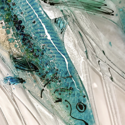 Close up of Glass Fish Picture by Dreya Glass