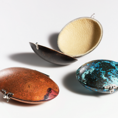 Handformed Boxes By Rebecca Wallet