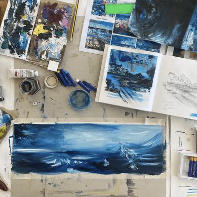 Artist Studio Of Robyn Weldon