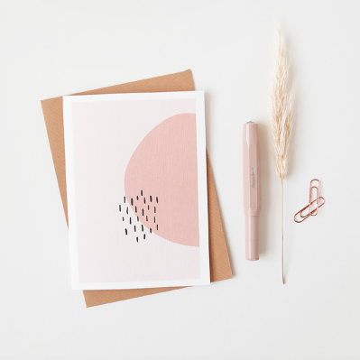 Scalet Paperie Raindrops Greeting Card