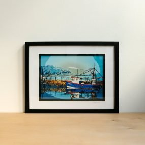 Digital Photograph Of Falmouth Harbour Altered To Resemble A Painting By Rei Arta