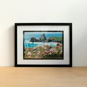 Digital Photograph Of Kynance Cove Altered To Resemble A Painting By Rei Arta