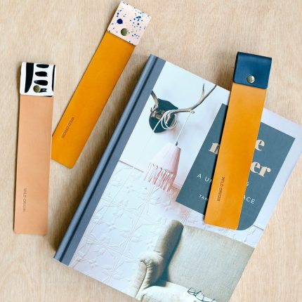 Leather bookmarks by Wild Origin
