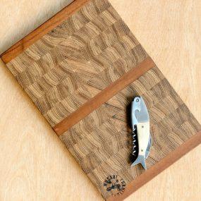 Medium Oak & Walnut Wood Chopping Board