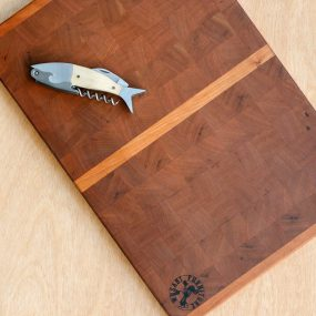 Large Cherry Wood Chopping Board