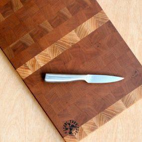 Large Cherry & Ash Wood Chopping Board