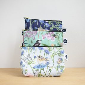Garden Print Make-Up Bag