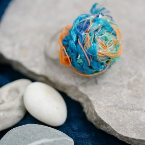 Crocheted Ghostnet Ring