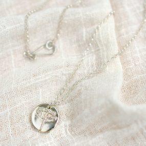 Agapanthus Sterling Silver Pendant