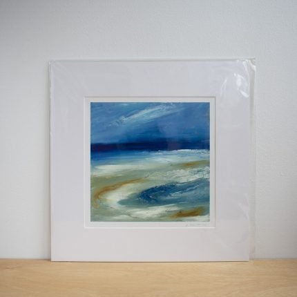 Shiftings Sands Print from an original artwork by Maggie Cochran