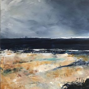Close Up Of On The Beach Original Painting By Maggie Cochran