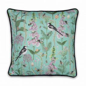 Garden Print Large Cushion