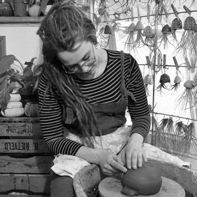 Katie And The Jellyfish Maker Portrait