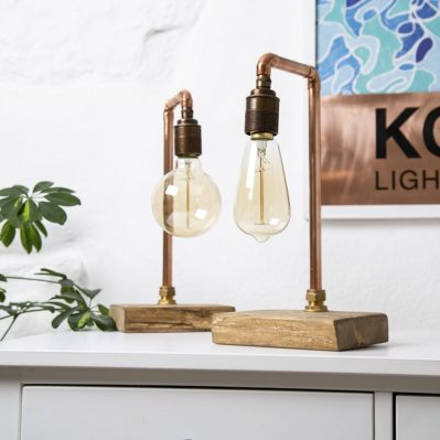 Copper Lamps By Kober Lighting
