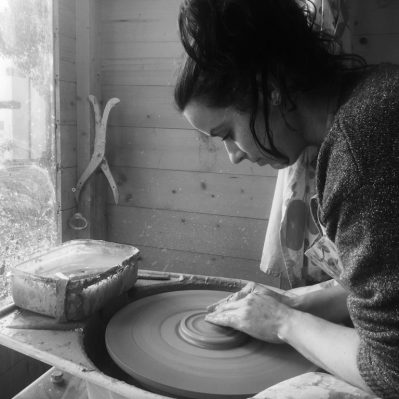 Shore Fired Pottery Maker Portrait