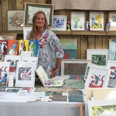 Katie Godden Green Artist Portrait