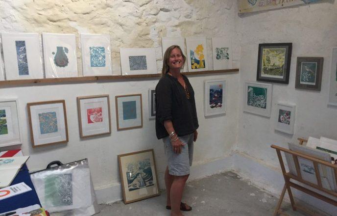 Katie Godden Green And Her Prints