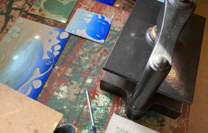 Katie Godden Green's Printing Press