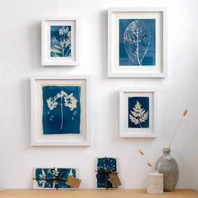 Cyanotype Prints By Creations From The Yurt
