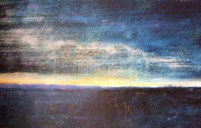 West Coast Light - Original Painting By Mick Dobie
