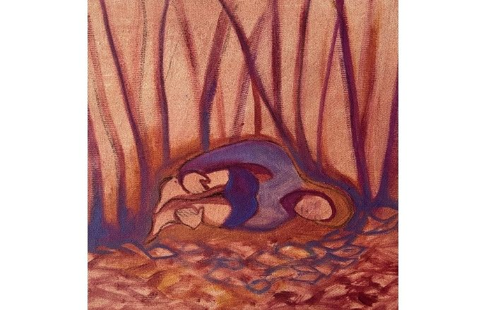 Rest - Original Oil Painting By Jasmine Mills