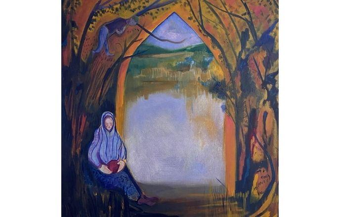Gatekeeper - Original Oil Painting By Jasmine Mills