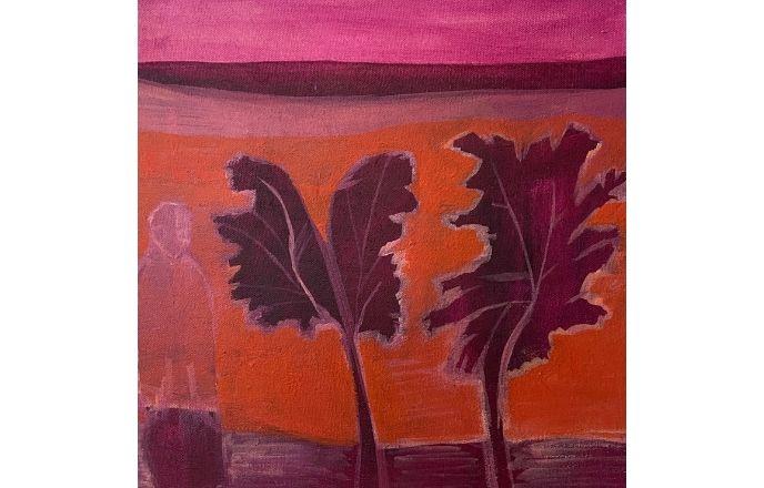Road Block - Original Oil Painting By Jasmine Mills