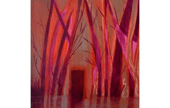 Wading Through - Original Oil Painting By Jasmine Mills