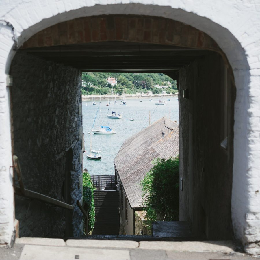 View to the River Fal from Inspire Makers