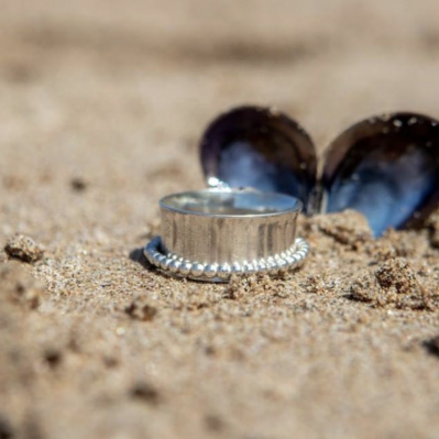 Silver Ring By Suzanne Barr Design