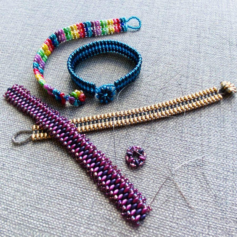 Superduo Bead Bracelets By Article Jewellery